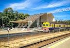 "Railway station (Art Station) ""Dubulti"" на фото Юрмалы"