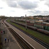 Железнодорожная станция  Rovno