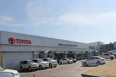 ... Toyota Showroom Al Futtaim Motors ...