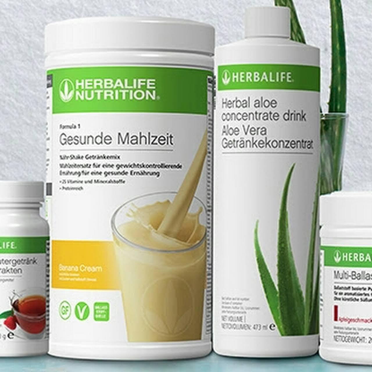 Herbalife Menü zur Gewichtsreduktion