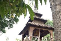 Shin Bin Maha Laba Man Temple, Sale, Myanmar
