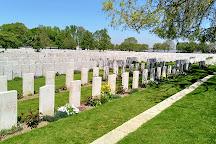 Lijssenthoek Military Cemetery, Poperinge, Belgium