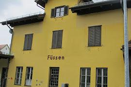 Автобусная станция   Füssen Bahnhof