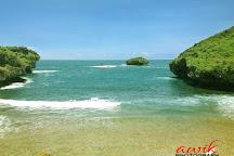 Srau Beach, Pacitan, Indonesia