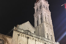 The St. Lawrence Cathedral and Bell Tower, Trogir, Croatia