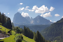 Sentiero del Trenino della Val Gardena, Ortisei, Italy