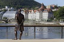 Statue du marquis Jouffroy d'Abbans, Besancon, France