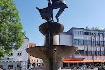 Fischerbrunnen, Memmingen, Germany