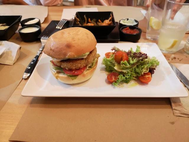 Melocoton Vegan Burger