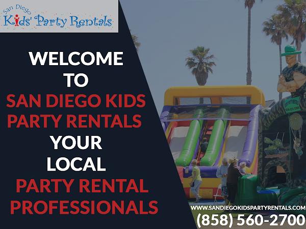 San Diego Kids Party Rentals