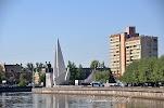 Памятник Николаю Чудотворцу на фото Калининграда