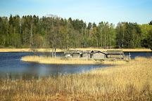 Araisi Lake Dwelling Site, Cesis, Latvia
