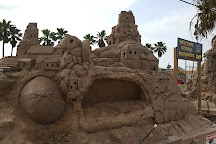 Largest Outdoor Sandcastle in the USA, South Padre Island, United States