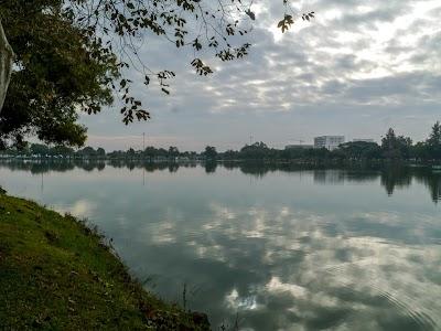 Parc municipal pour mon jogging