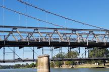 Waco Suspension Bridge, Waco, United States