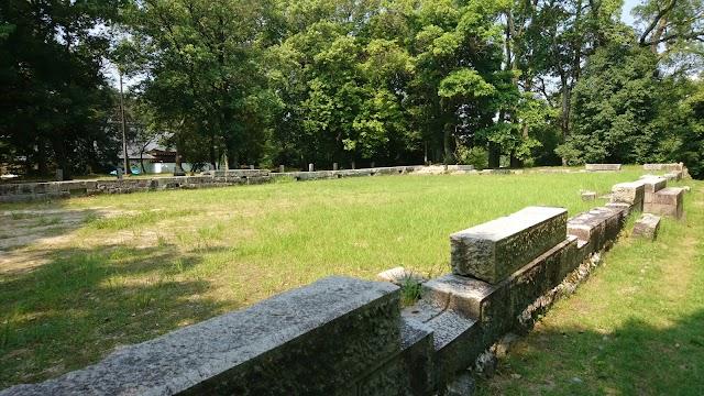 Ruin of Chamber of Shoken Empress Dowager
