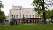 Театр имени Пушкина, Тверской бульвар на фото Москвы