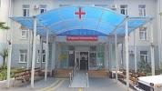 Городская поликлиника № 2, первое отделение, улица Ульянова на фото Сочи