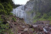 Spray Falls, Mount Rainier National Park, United States