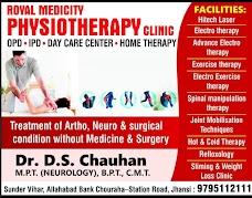 Royal Medicity Physiotherapy clinic jhansi