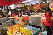 Karato market, Shimonoseki, Japan