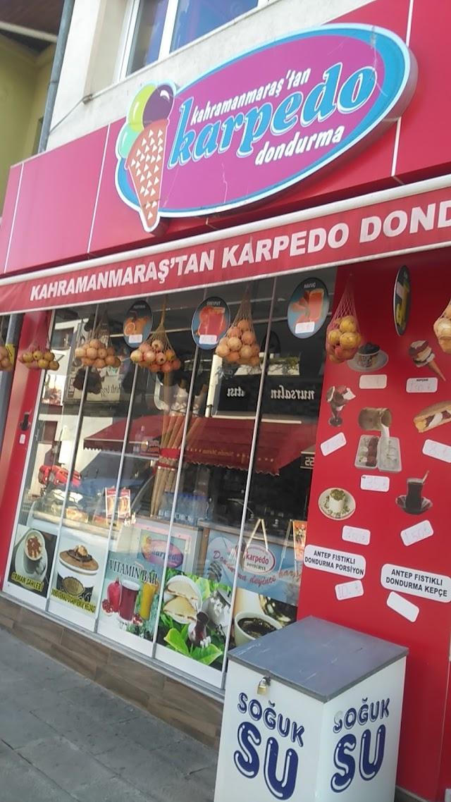 Ice cream from Kahramanmaras Karpedo