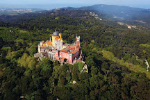 Park and National Palace of Pena, Sintra, Portugal