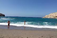 Matala beach, Matala, Greece
