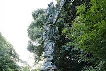 Totem Pole, Uenokoen, Japan