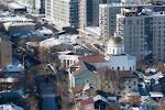 Спасский храм, улица Октябрьской Революции на фото Уфы