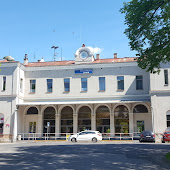 Железнодорожная станция  Františkovy Lázně   mestské sad