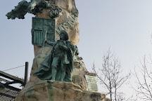 Monumento a Andres Torrejon, Mostoles, Spain