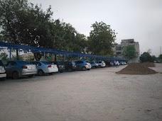 University Parking Lot lahore