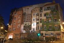 Le Mur Des Canuts, Lyon, France