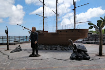 Estatua de Charles Darwin, Puerto Baquerizo Moreno, Ecuador