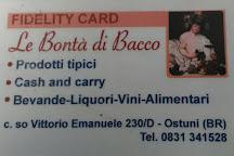 Le Bonta di Bacco Enoteca, Ostuni, Italy