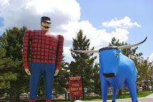 Paul Bunyan and Babe the Blue Ox, Bemidji, United States