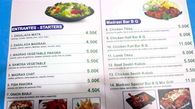 Madras Restorent