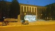 Администрация Центрального Округа, улица Ленина на фото Новосибирска