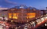Radisson Royal Отель, Невский проспект на фото Санкт-Петербурга