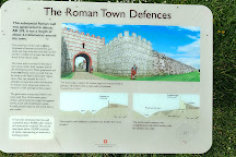 Silchester Roman City Walls and Amphitheatre, Reading, United Kingdom
