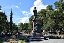 The Three Smiths Statue, Helsinki, Finland
