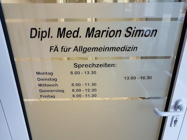 Dipl.-med. Marion Simon