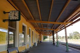 Железнодорожная станция  Františkovy Lázne
