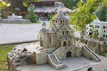 Bakhchisaray Park Crimea in Miniature on the Palm, Bakhchisaray, Crimea