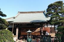 Choryuji Temple, Nagareyama, Japan