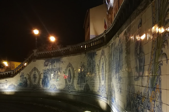 Painel de Azulejos, Viseu, Portugal