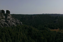 Elbe Sandstone Mountains, Bad Schandau, Germany