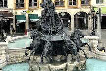 Bartholdi Fountain, Lyon, France