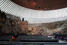 Temppeliaukio Church, Helsinki, Finland